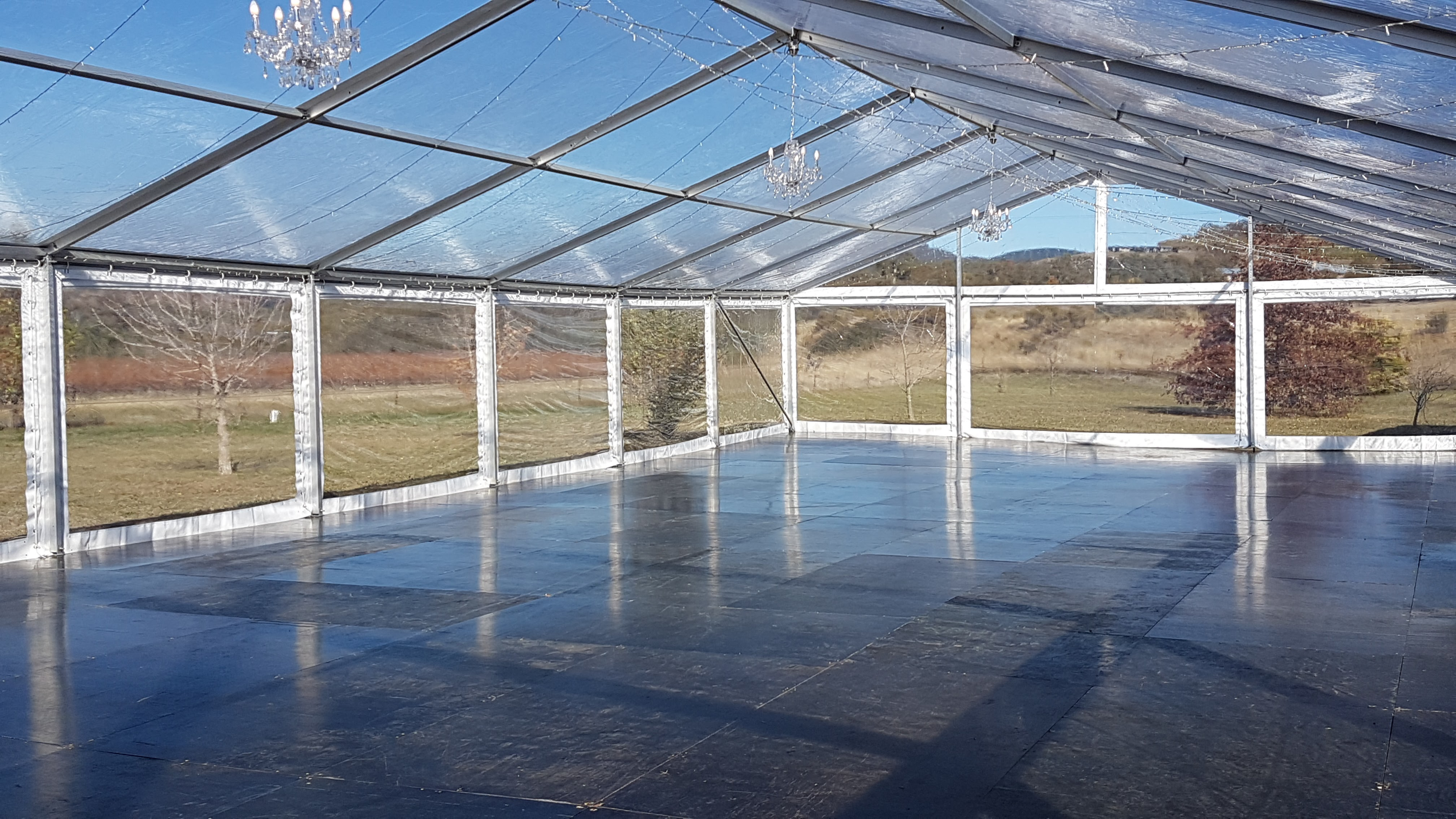 10m X 24m Marquee With Clear Roof Bathurst Event
