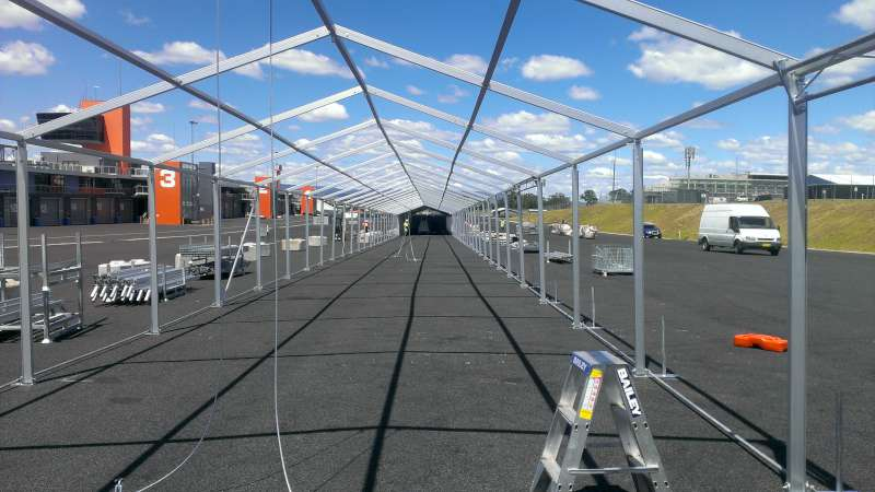 6m x 120m marquee W800
